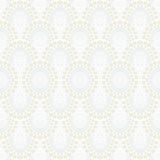 Biała geometryczna tekstura w art deco stylu Obraz Royalty Free