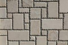 Biała granitowa kamienna ściana Zdjęcia Royalty Free