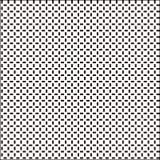 Biała i kawowa fasola barwił czarnego pudełko patern Obraz Stock