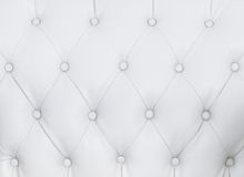 Biała kanapy tekstura Obrazy Stock