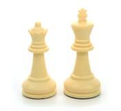 Biała królowa i królewiątko zdjęcia stock