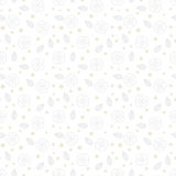 Biała kwiecista tekstura z małymi ditsy kwiatami Zdjęcie Stock