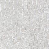 Biała leatherette tekstura dla tła Obraz Royalty Free