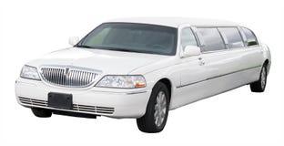 biała limuzyna Zdjęcie Royalty Free