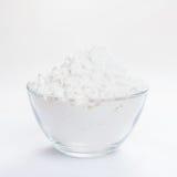 Biała mąka dla piec zdjęcia stock