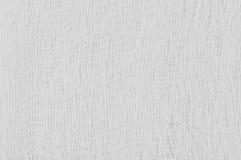 Biała medyczna bandaż gazy tekstura, abstrakt textured tła makro- zbliżenie, naturalnej bawełnianej bieliźnianej tkaniny kopii ho Fotografia Royalty Free