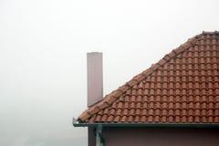 Biała mgła Obrazy Royalty Free