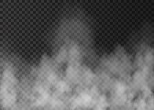 Biała mgła Zdjęcia Stock