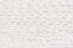 Biała miękka część dział tkaniny teksturę z paska wal Zdjęcie Royalty Free