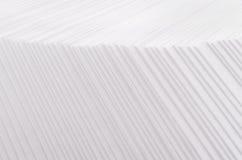 Biała pasiasta odmierzona abstrakcjonistyczna tekstura z halftone granicą Obraz Royalty Free
