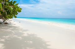 Biała piasek plaża przy Tachai wyspą, Tajlandia Obrazy Royalty Free