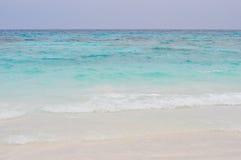 Biała piasek plaża w Tajlandia Fotografia Stock
