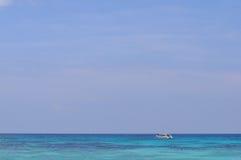 Biała piasek plaża w Tajlandia Zdjęcia Royalty Free