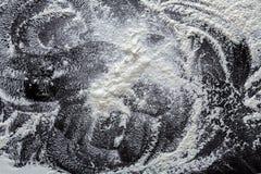 Biała podłoga na czarnym tle, abstrakcjonistyczna tekstura Zdjęcie Royalty Free