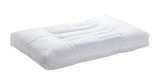 Biała poduszka Zdjęcie Royalty Free