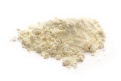 Biała pszeniczna mąka obraz stock
