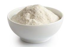 Biała Ryżowa mąka fotografia stock