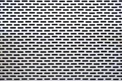 Biała stali ściana Fotografia Stock