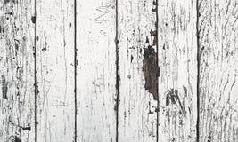 Biała stara drewniana podłoga Obraz Royalty Free