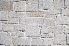 Biała Sztuczna Kamienna ściana Zdjęcia Stock