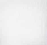 Biała tkaniny tekstura Zdjęcia Royalty Free