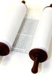 Biała Torah ślimacznica fotografia stock