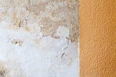Biała tynku Grunge ściany tekstura Obrazy Stock