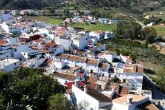 Biała wioska, Alozaina obrazy stock