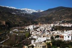 Biała wioska, Cadiar, Hiszpania. fotografia royalty free