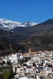 Biała wioska, Cadiar, Hiszpania. zdjęcia stock