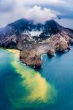 Biała wyspa obraz royalty free