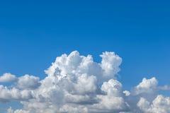 białe chmury Obraz Royalty Free