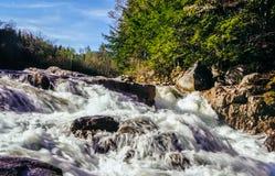 Białe góry, New Hampshire Zdjęcia Royalty Free
