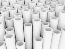 Białe klingeryt tubki ilustracja wektor