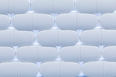 białe pigułki zdjęcie stock