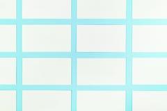 Białe Puste wizytówki Na Błękitnym tle Z Papierową teksturą Fotografia Royalty Free