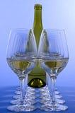białe wino obraz royalty free