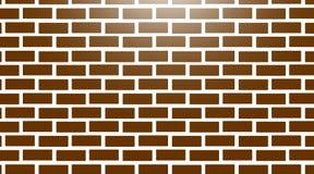 Białego ściana z cegieł bezszwowa tekstura obraz stock