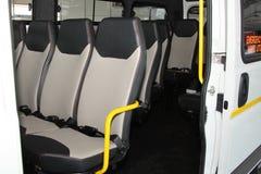 Białego Citroà 'n luzowania światła Handlowy transport Van Obrazy Stock