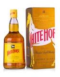 Białego konia Szkocki Whisky jest mieszającym Szkockim whisky od Edinbu Zdjęcia Stock