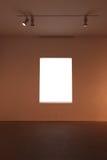 Białego kwadrata okno Zdjęcia Royalty Free