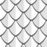 Białego papieru cięcie waży bezszwową teksturę royalty ilustracja