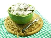Białego smoka odżywki owocowy wysoki cięcie w ceramicznego pucharu selekcyjnej ostrości obraz royalty free