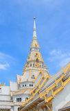 Białego złota kościół zdjęcie stock