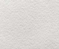 Białej akwareli słoista szorstka papierowa tekstura obrazy stock