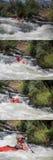 Białej wody rasa Obraz Royalty Free