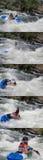 Białej wody rasa Zdjęcia Stock