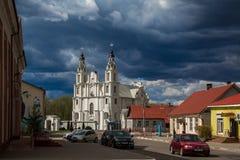 Białoruś, architektura, kościół Fotografia Royalty Free