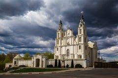 Białoruś, architektura, kościół Fotografia Stock