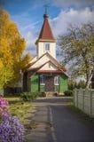 Białoruś, Borisov: Starej wiary Pokrovskaja ortodoksyjny kościół Zdjęcie Stock